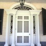 Front Door of Linden - Featured in Gone with the Wind