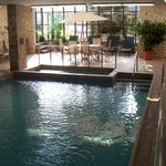 pool & spa area