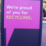 Rosslyn recycles
