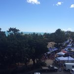 Ocean view and weekend markets