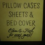 "Really?  ""Clean sheets"" is the best you can do?"