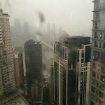 view from my room, looks like Hong Kong or Manhattan