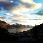 Spectacular views over Lake Wakatipu