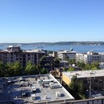 Elliott Bay from rooftop deck