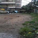 When parking is full...this is where you will be directed to...a dumpsite!!!