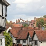 Typical view of Lavenham town