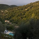 The view from the Olive Grove Aptbalcony
