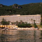 the hotel from the sea!
