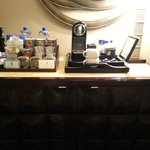 In-room snack bar