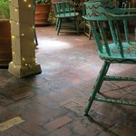Indoor Patio Area at the Double Eagle