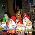 Snow White and the 7 Dwarfs (ok, well a few of them are gnomes)