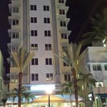 MARSEILLES FACADE on COLLINS AVE SOBE @ NIGHT