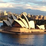 The iconic Opera House - a lovely walk from the hotel across the Sydney Harbour Bridge