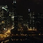 View of Chicago from the lobby