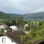 View from our balcony- The Rainbow