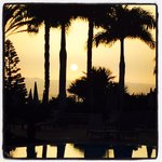 Taken at the salt water pool at sunset, lasted August 2014.