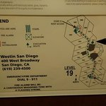 Westin San Diego --- Room 1911 is a Deluxe Rm.. The smallest of the floor !!!