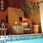 Al Ksar Spa  Riad marrakech swimming pool