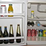 They still do the mini-bar thing with the fridge
