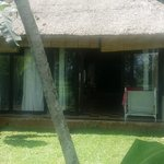 View of one side of Hojoki villa at Bali T-House (Klod)
