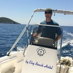 Boat rental from Elly Beach Hotel, which is just a 3 minute walk from Ana Pension