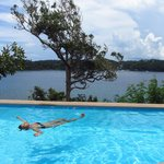 infinity pool - great for a relaxing dip!