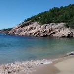 Acadia National Park - Sand Beach -water is cold!!