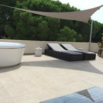 Terrasse coin jacuzzi