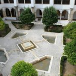 the central cloister