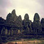 View from outside. Looks dull but u will change your mind once see bayon faces