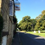 The Kingham Plough on a sunny September lunchtime