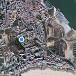 Location of Apartment - Pr da Rocha, below, Portimao to RH Side