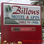 Φωτογραφία: Billows Apartment Motel
