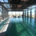Top floor swimming pool