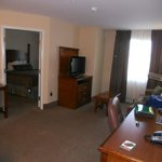Living room and kitchen are seprate from bedroom & bath at Staybridge Suites Reno