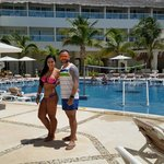 Isla mujeres Palace with my girlfriend