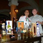 Francisco at Tamarindo - great service, great tequila