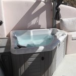 Jacuzzi on the balcony