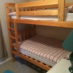 Bunk beds in 2nd bedroom
