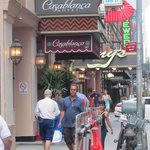 Casablanca hotel, just off Times Square