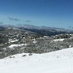 Mt Buller Village view from the Summit