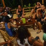 Impromptu Jamming Session with local and visiting surfers