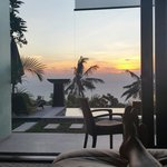 Sunset from your bed