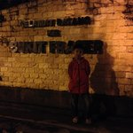 Danial at one of the landmarks