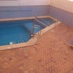 pool area (shower area after checkout