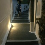 Be ready to walk some steep steps. to get into and out of the resort requires it.