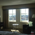 our room with city view