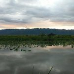 Fabulous view of inle from the inle princess resort