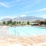 Sandia Resort pool.