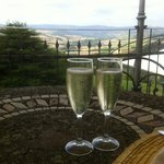 drop of fizz for lunch